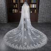 Voile allongé et élargi 3 mètres de long voile de queue accessoires de mariage de mariée en gros