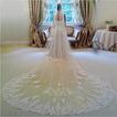 3M long voile de mariée de dentelle 1.5m large voile d'église de mariage de voile
