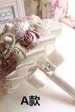 Nouvelle perle d'eau atmosphérique simple perle mariée fleur de mariage