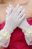 Gants de mariage Fête Spandex Perle Glamour Court Translucide