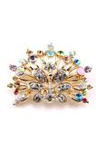 Broche en diamant magnifique incrusté de diamants de qualité supérieure Phoenix