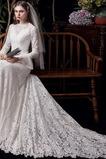 Robe de mariée Près du corps Longue Fermeture éclair vogue Plage