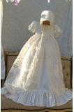 Robe de fille de fleur Bébé Manquant Perle Chapeau Naturel taille