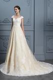Robe de mariée Glissière Salle Longue Cérémonial Bouton Médium