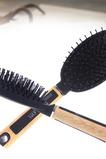 Mode de soins de santé léger Massage antistatique poignée en bois petit miroir et peigne