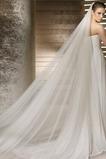La robe de mariée mariée voile fil doux 3 mètres de long et deux couches de voile souple