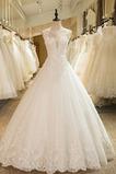 Robe de mariée Laçage Décalcomanie Eglise Formelle net Manquant