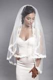 Voile de mariée blanc Dentelle Chic Dentelle Mariage Automne