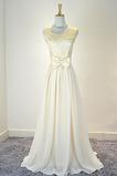 Robe de demoiselle d'honneur Naturel taille Mode Printemps A-ligne