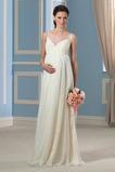 Robe de mariée De plein air Printemps Simple Longueur de plancher