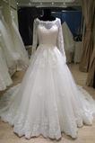 Robe de mariée Princesse Fermeture à glissière Perler Eglise
