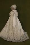Robe de fille de fleur Cérémonie Manche Courte Automne Longue