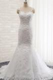 Robe de mariée Sirène Dentelle Longue Salle des fêtes Elégant