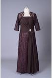 Robe mères Longueur de plancher Sans courroies Petites Tailles