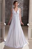 Robe de mariée Éternel Fermeture à glissière Traîne Courte Automne