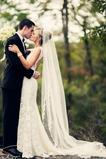Voile de mariée Mariage Dentelle Automne Longue Dentelle Longue