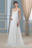 Robe de mariée Traîne Courte crêper Mousseline Plus la taille