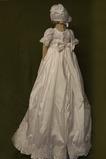 Robe de fille de fleur Princesse Haute Couvert Lanterne Longue