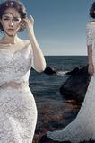 Robe de mariage Norme Naturel taille Fermeture éclair noble Printemps