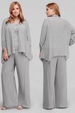 Robe mères Un Costume Drapé Haute Couvert 3/4 Manche Couvert de Dentelle