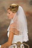 Voile de mariée Automne Simple blanc Mariage La taille peut être personnalisée