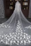 Voile de mariée Mariage Largeur Moderne Dentelle Automne Décalcomanie