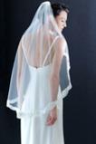 Voile de mariée Elégant Avec le peigne Longue Automne Dentelle