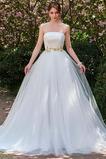 Robe de mariage Elégant De plein air Haut Bas Sans bretelles