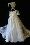 Robe de fille de fleur Cérémonie Norme Longue Haute Couvert Princesse