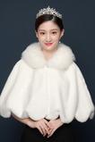 Automne chaud et hiver châle manteau de fourrure de renard châle