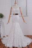 Robe de mariée Sans Manches Manquant Eglise Printemps Sirène