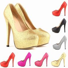 Chaussures de mariage de mode de mariée étincelantes talons aiguilles