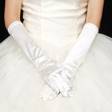 Gants de mariage Classique Spandex Épais Froid Doigt entier Mariage
