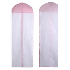 Flap non-tissé 155cm recto-verso transparente cache-poussière de mariage