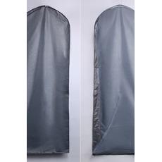 155cm en gros transparent cache-poussière de mariage en argent
