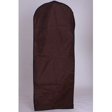 Housse anti-poussière gaze imperméable robes de mariée marron