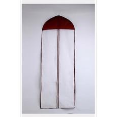 Pare-poussière non-tissé de mariage transparent non-tissé transparent de 155cm plus long