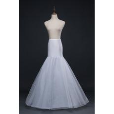 Petticoat de mariage Sirène Robe de mariée Corset Jantes simples
