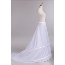 Petticoat de mariage À la mode Ajustable Taille Taffetas en polyester