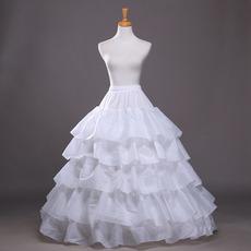 Petticoat de mariage Robe de mariée À la mode Taffetas en polyester