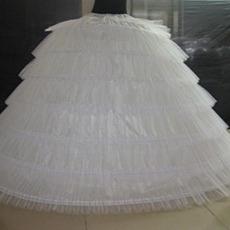 Petticoat de mariage Taille elastique Développer Flouncing Ancien