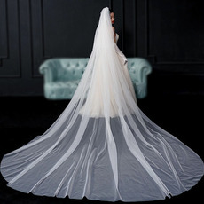 Mariée voile voile simple voile mariée photo long voile accessoires de mariage