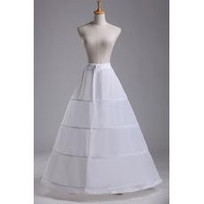 Petticoat de mariage Périmètre Robe de mariée À la mode Quatre jantes