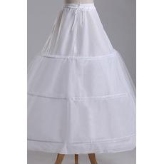 Petticoat de mariage Trois jantes Chaîne Robe pleine Nouveau style
