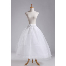 Petticoat de mariage Ajustable Trois jantes Fort net À la mode