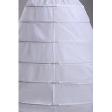 Petticoat de mariage Nouveau style Fort net Largeur Robe pleine