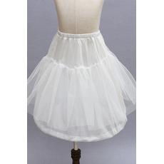 Petticoat de mariage Double fil Sans cadre À la mode Robe d'enfants