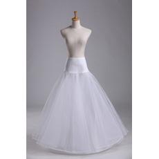 Petticoat de mariage la norme Matériau élastique Fort net Robe pleine