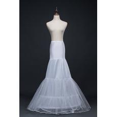 Petticoat de mariage Spandex Deux jantes Diamètre Double fil