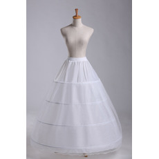 Petticoat de mariage Diamètre Élégant Développer Ajustable Quatre jantes